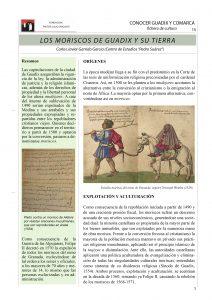 Página 1 de la ficha los moriscos de Guadix y su tierra