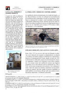 Página 2 de la ficha los moriscos de Guadix y su tierra