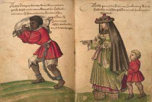 Esclavitud según Weiditz en1529