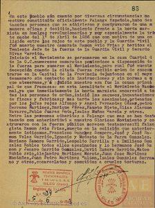 Siles en la II República, Guerra Civil y Postguerra.