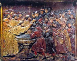 Bautismo de los moriscos del reino de Granada